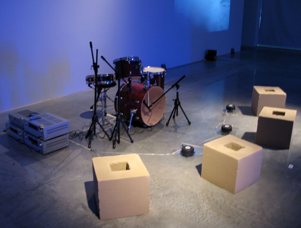 Drum Solo No. 6 (pre-performance view)