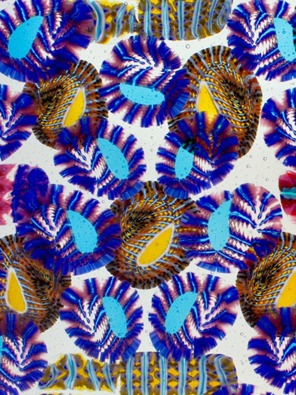 Untitled No. 7 (Paisley Abstraction)