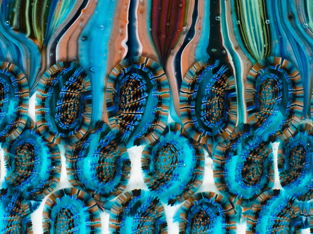Untitled No. 9 (Paisley Abstraction)